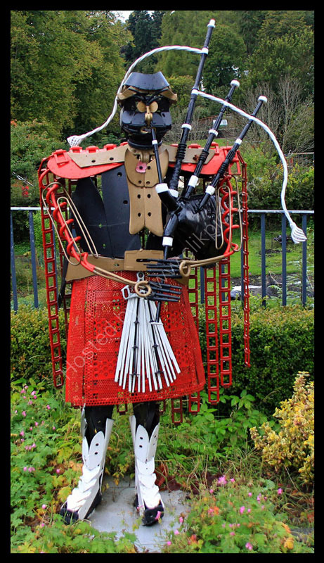The Metal Piper Dunkeld Perthshire