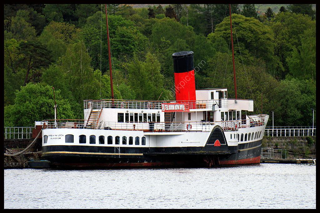 The Tea Room Boat on Loch Lomond