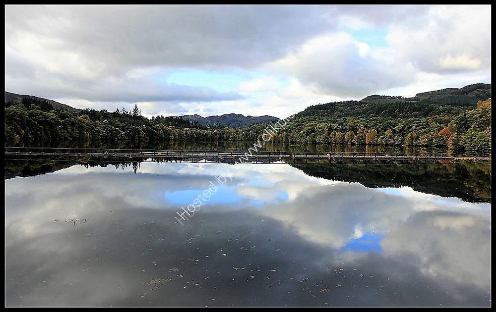 Loch Faskally from the Hydro Dam