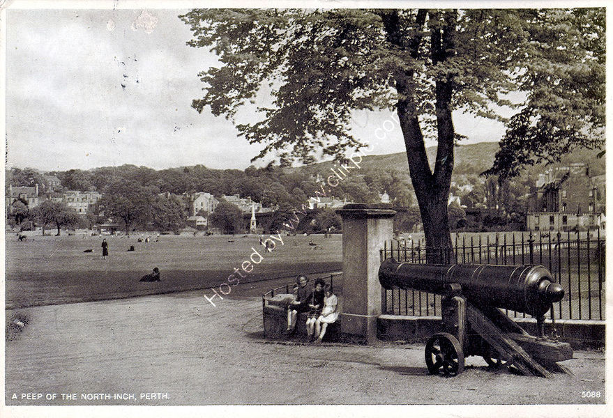 North Inch from Rose Terrace.