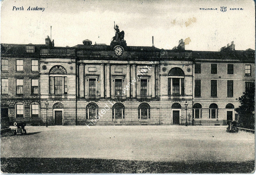 Perth Academy in Rose Terrace 1905