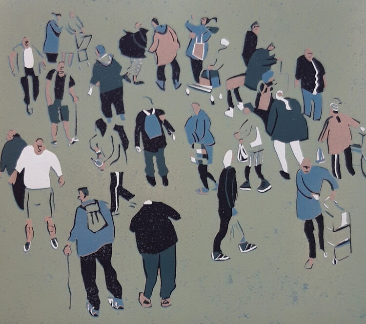 Graham Firth crowdy crowd