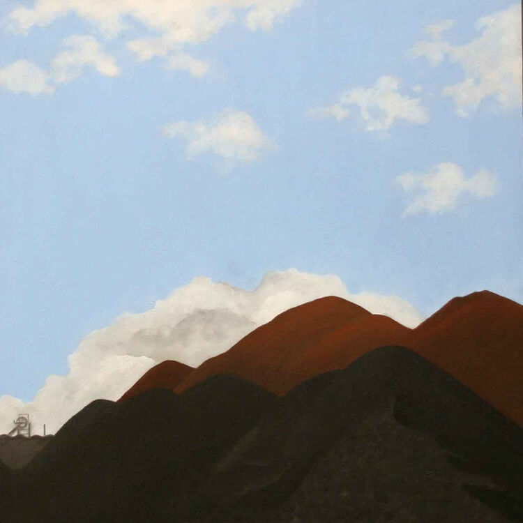 Janet Buckle coalscape  2004