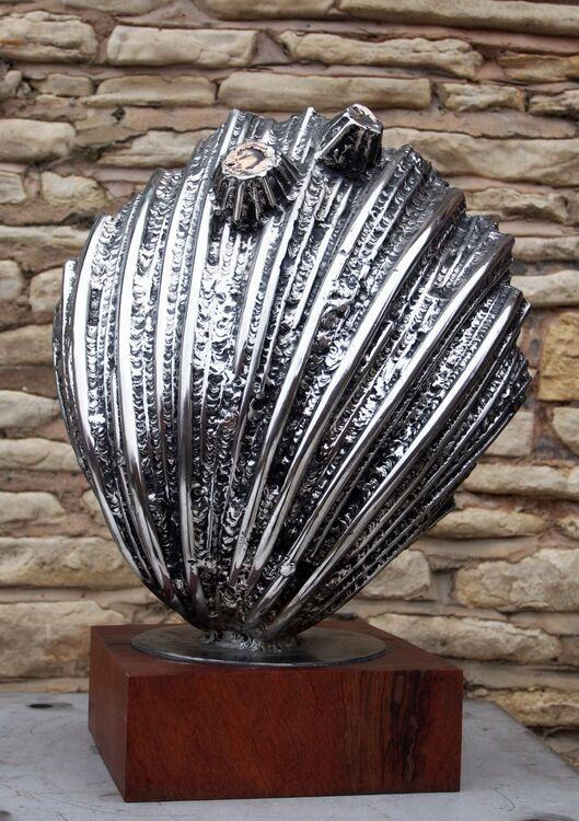 Michael Johnson Cockle Sculpture