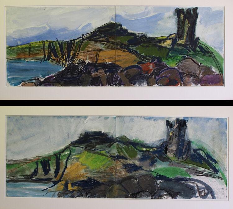 Michael Johnson Dunstanburgh Castle