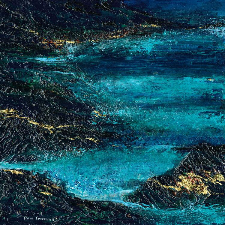 Paul Freeman green blue Sea