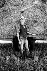 Irish Farmer with Straw