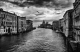 Storm Clouds Over The Grand Canal Venice