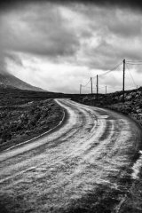 Wet Road Connemara