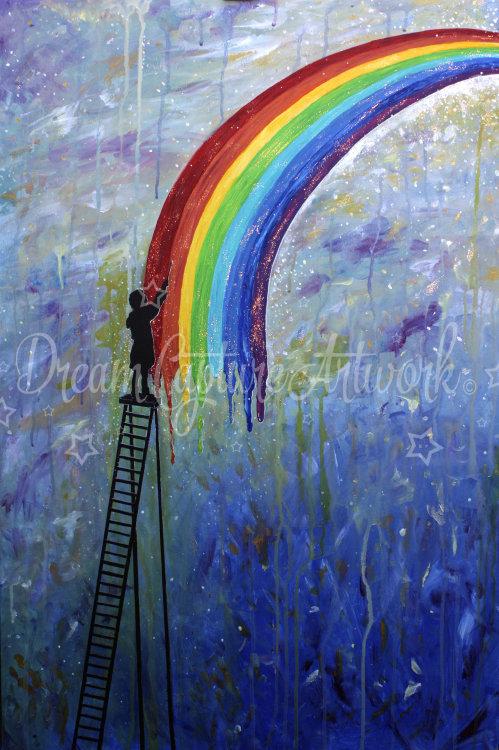Paint Rainbows