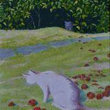 122-Cat Among the Windfalls.JPG