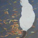 141-Cat with Oak Leaves.JPG