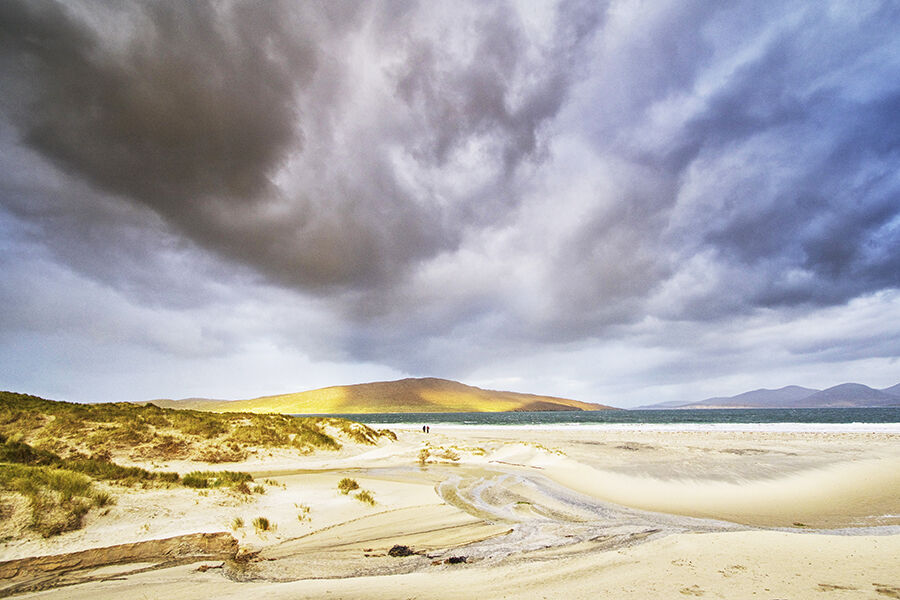 Storm Clouds Over Luskentyre