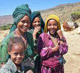 Ethiopian Village Girls
