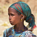 Young Amhara Girl