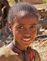 Tigray Village Girl