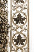 Leaf tiles sepia