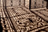 Wrought iron shadows