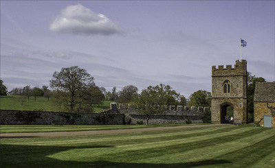 Looking Towards The Gatehouse.