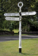 """The Old Signpost"""