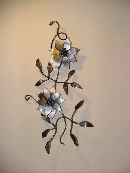 Clematis Wall Art