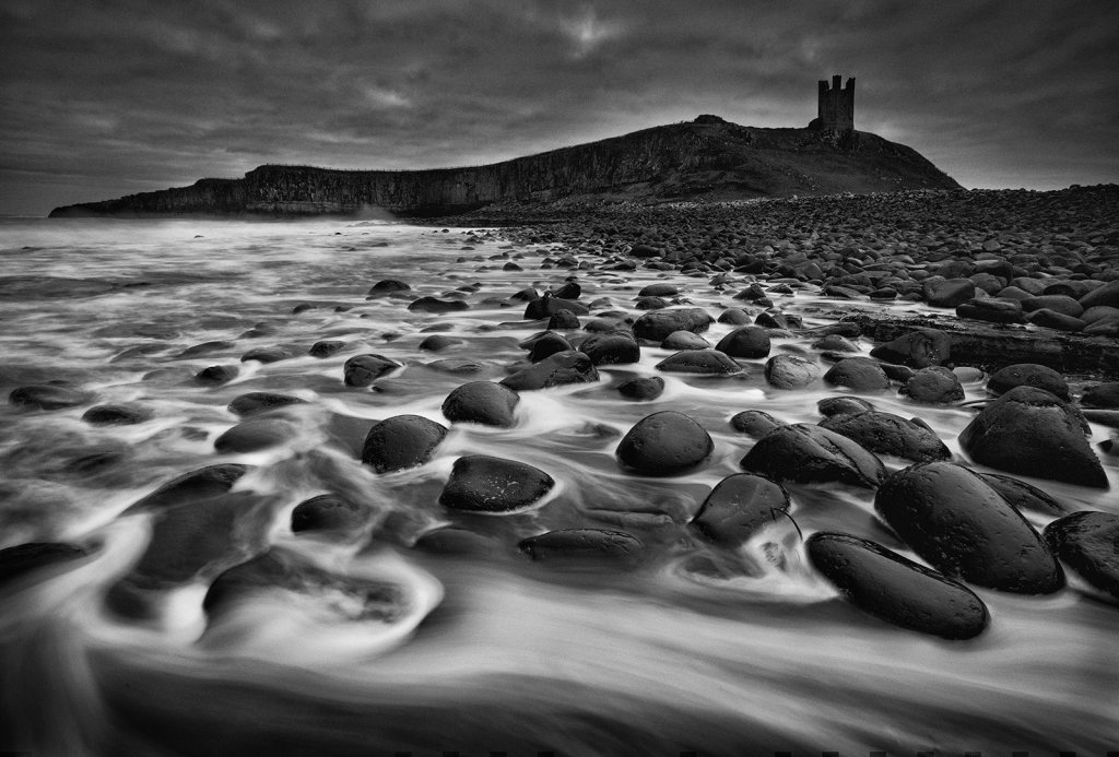 Cannonball Beach, Dunstanburgh