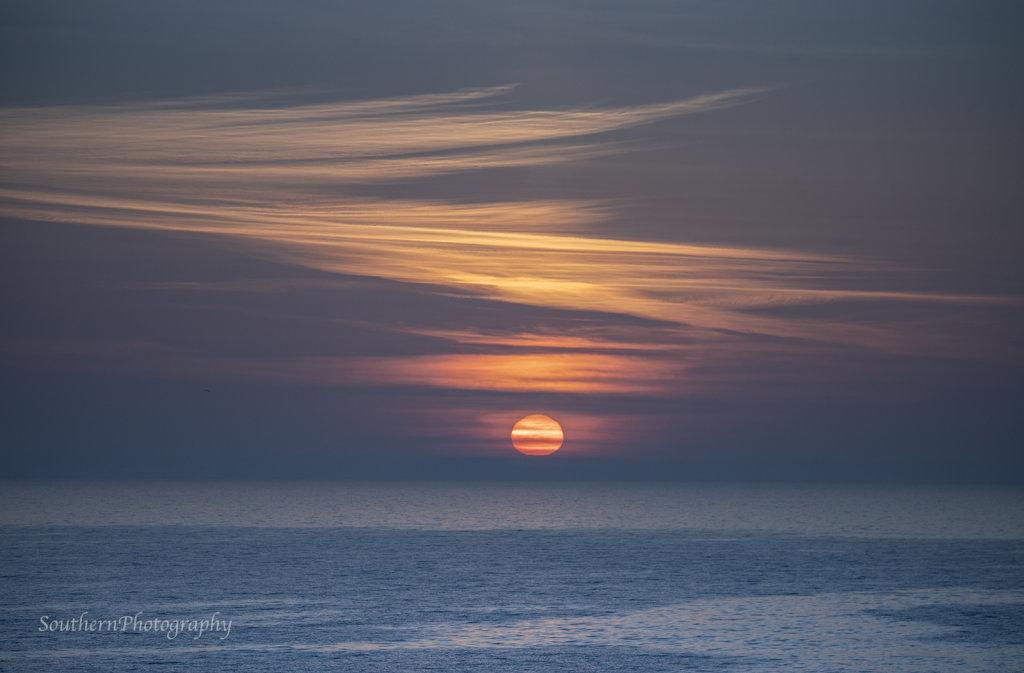 Sunrise at Alnmouth