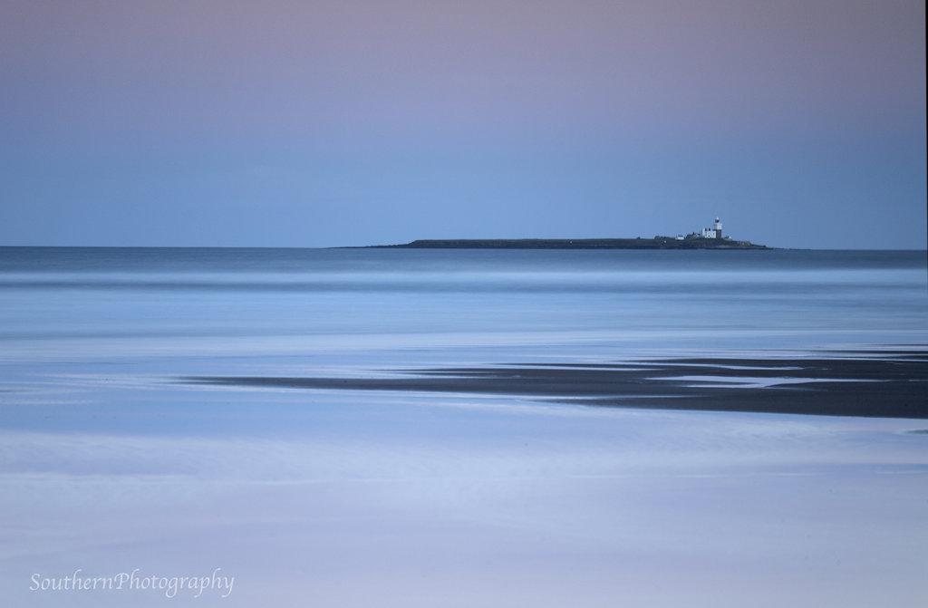 Warkworth Beach and Coquet Island
