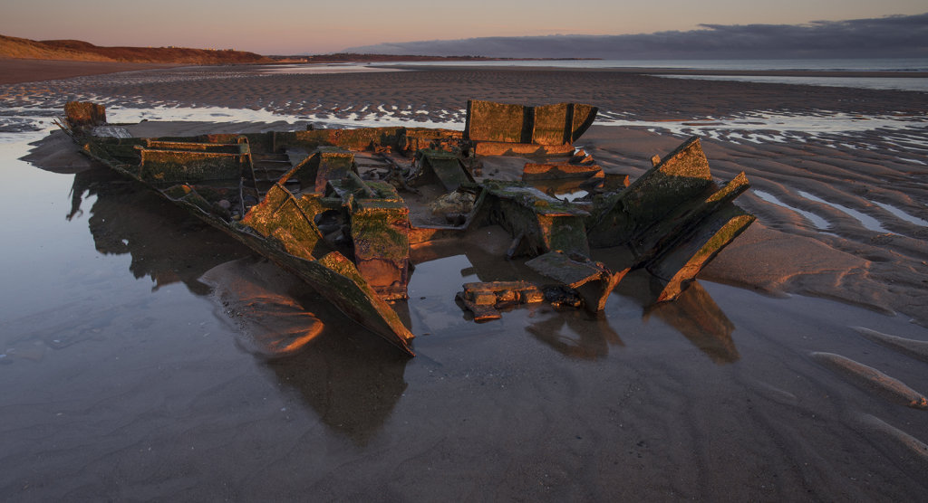 The remains of the Hanseat, Warkworth