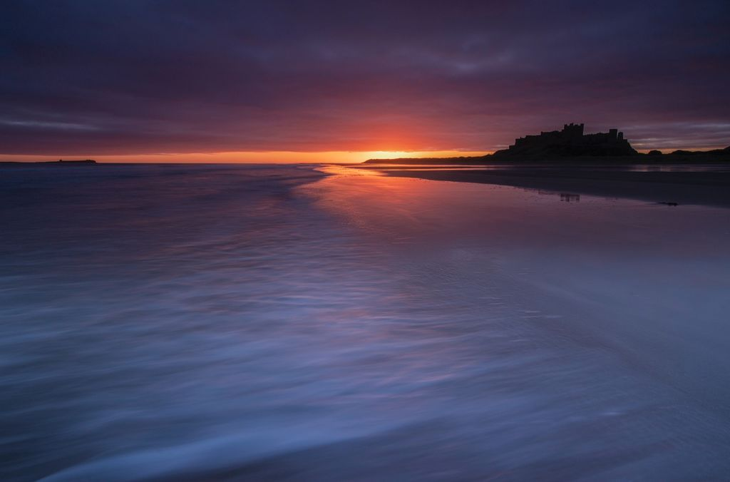 Bamburgh, Winters Dawn