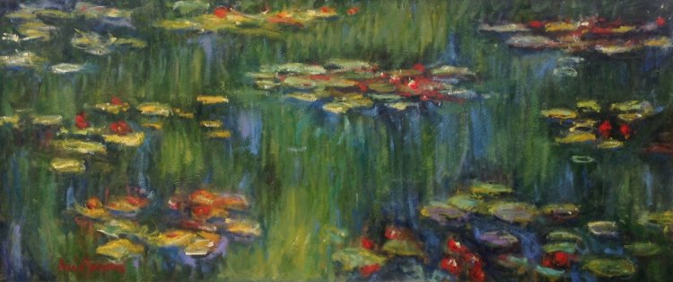 Chasing Monet - Green Reflections on the Waterlily Pond (1914-26)