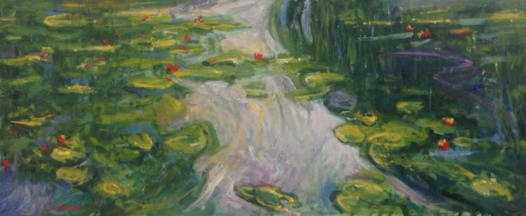 Chasing Monet - The Waterlily Pond (1918-22)