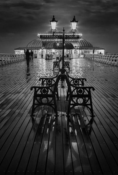 Evening Encounter on Cromer Pier