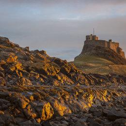 Lindisfarne Castle at Dawn
