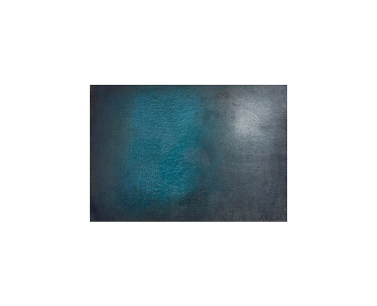 Abstract in Blue and White I