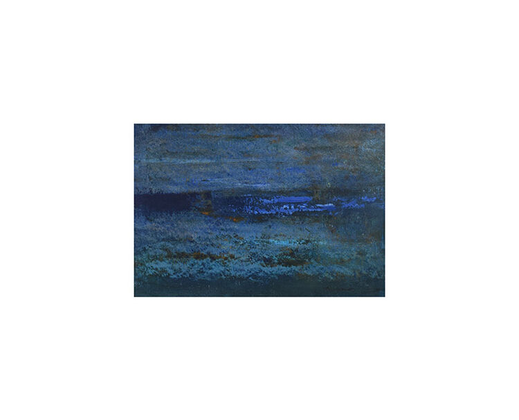 Abstract in blues