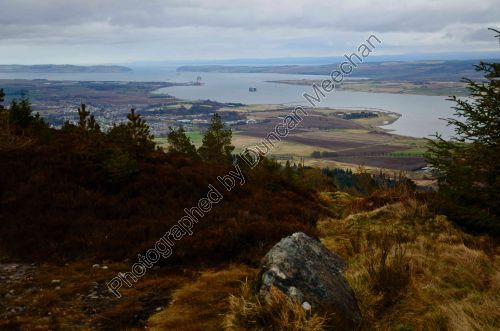 The Cromarty Firth on 10th March 2012