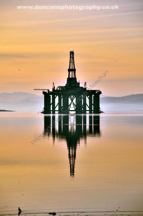 Sedco 712 Oil Rig