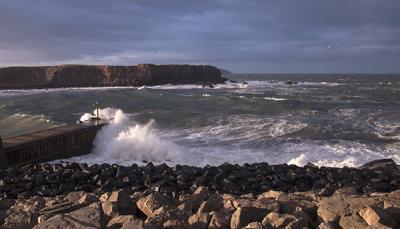Heavy Sea at Eyemouth
