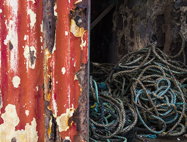 Old net shed St.Abbs