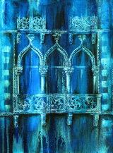 Windows on the Lagoon - £185 - acrylic on canvas