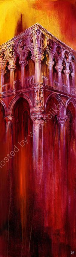 The Palace (Palazzo) - acrylic on canvas