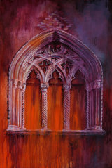 Secret Window - £265 - acrylic on canvas