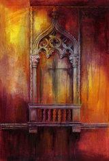 Fenestra I - £265 - acrylic on canvas