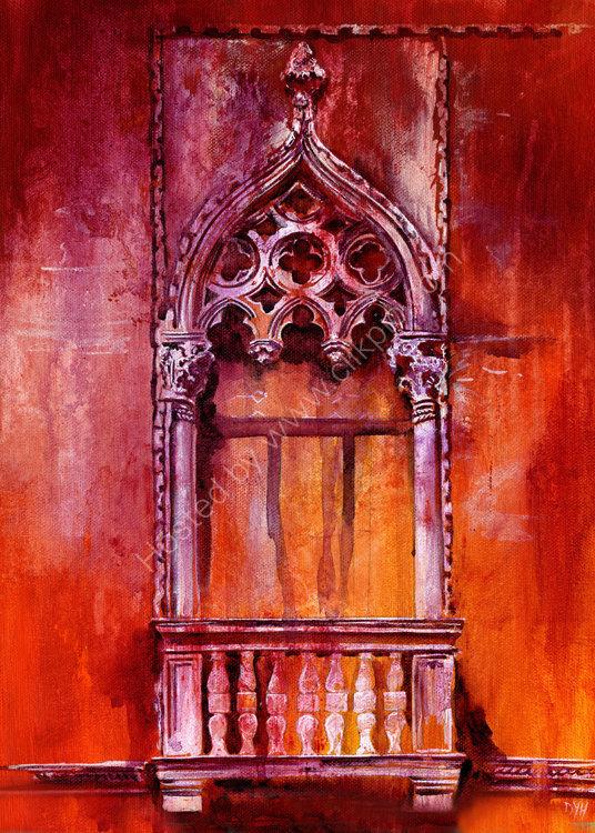 Venetian Dreams - acrylic on canvas