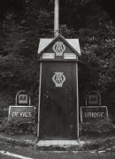 AA Call Box, Devil's Bridge, North Wales