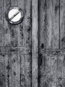 Weathered Garage Door, Le Caylar, Southern France