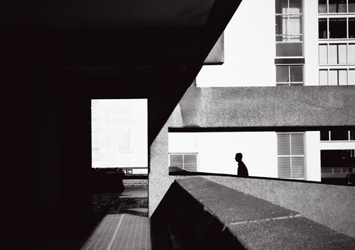 Pedestrian Walkway, Barbican, London