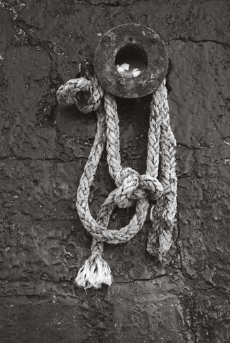 Rope, Broadstairs Harbour, Kent