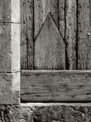 Wooden Door, Le Caylar, Southern France